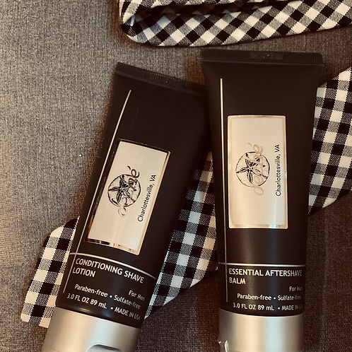Conditioning Shave Lotion & Essential Shave Balm from Deché Men