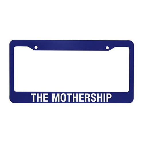 The Mothership License Plate Holder