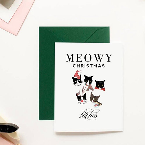 Meowy Christmas, bitches