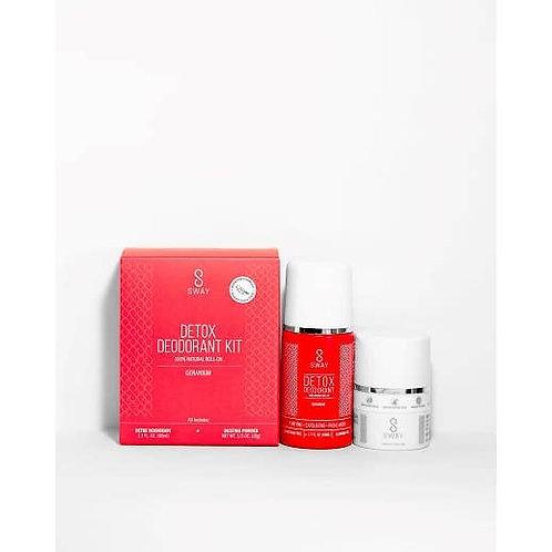 Detox Deodorant Kit - Geranium (S)