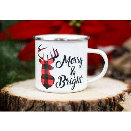 12oz Merry and Bright Mug