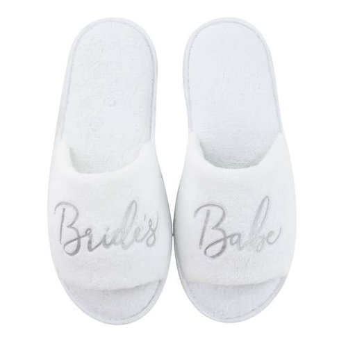 Bride's Babe Slippers