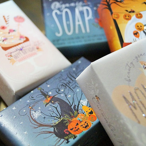 On Sale! Halloween Organic Soap