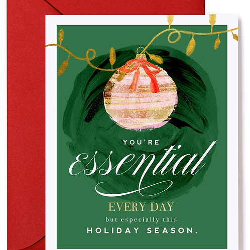 You're Essential This Holiday
