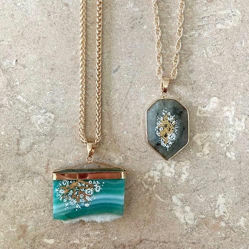 Handpainted Gallery Pomona Necklaces