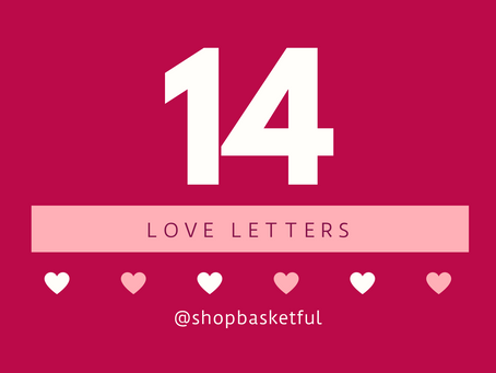 Grateful: 14 Days of Love Letters. Go!