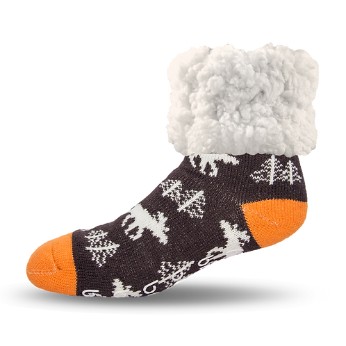 Classic Slipper Socks | Moose Grey