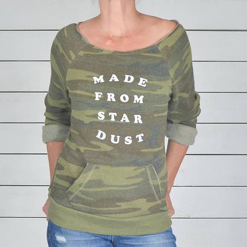 Made From Star Dust Camo Dancer Fleece Sweatshirt