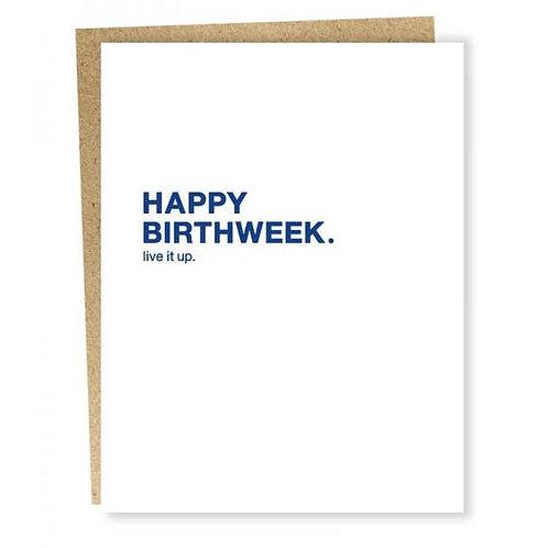 Birthweek Card
