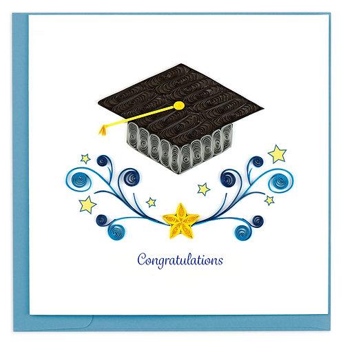 Quilling Card - Congratulations Grad