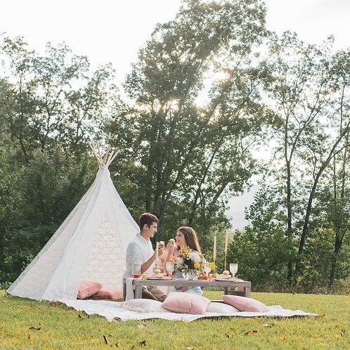 C'Ville Picnic - Classic Package + Boho Tent