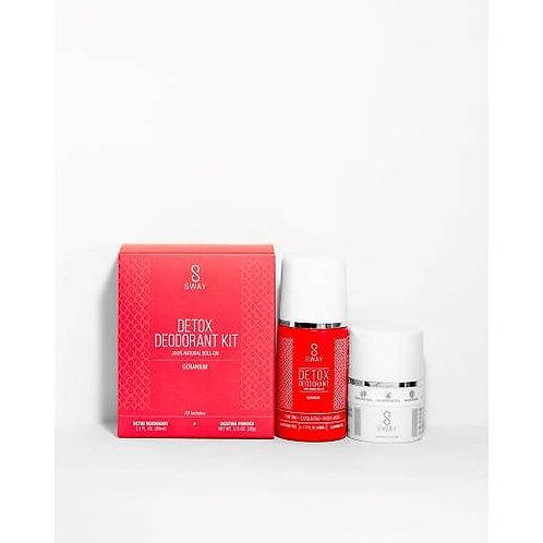 Detox Deodorant Kit - Geranium