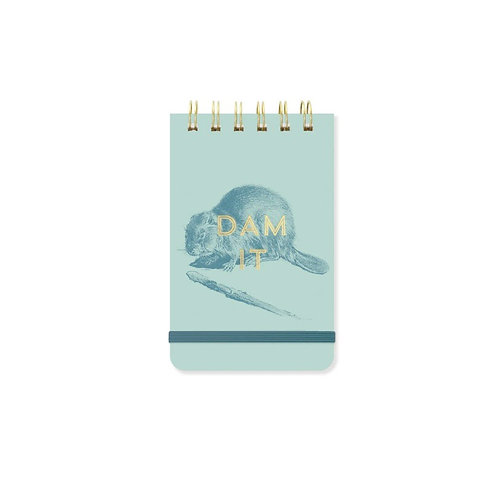 Vintage Notepad - Beaver Dam It