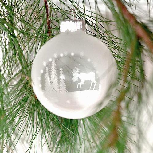 Moose Window Ornament