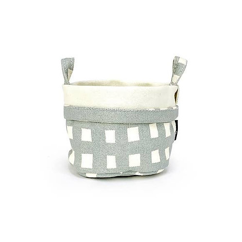 Flores Recycled Canvas Bucket Small