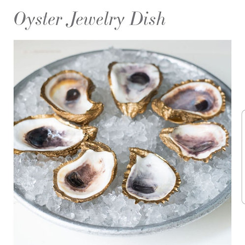 Oyster Jewelry Dish - Grit and Grace