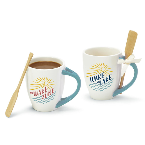 Lake Life Mug with Oar Stirrer