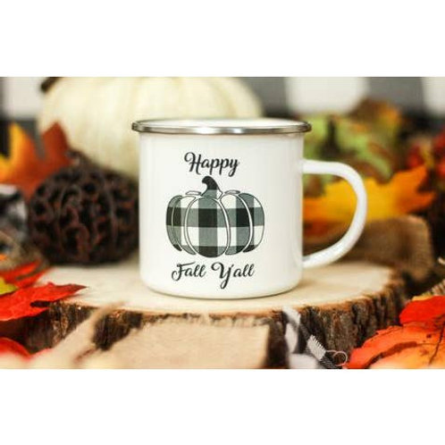 12oz Happy Fall Yall Mug
