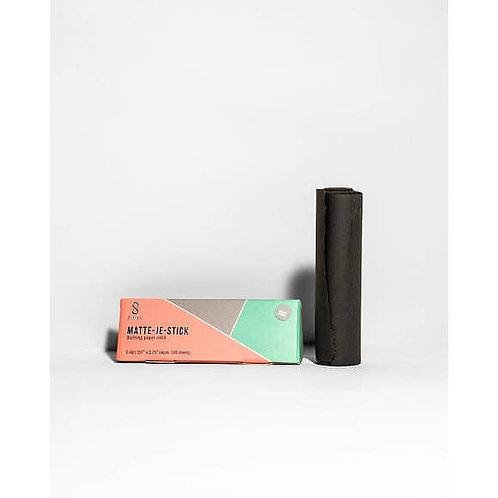 Matte Je Stick Oil Blotting Paper Refill - Charcoal
