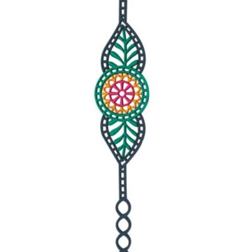 Vibrant Everyday Bracelet - Eco-Conscious Art Jewelry