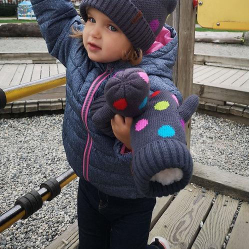 Kids Winter Mittens | Polka Dot MultiKids Winter Mittens | Polka Dot MultiKids