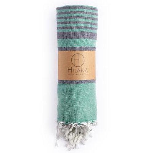 Fethiye Green Towel  - Upcycled Cotton