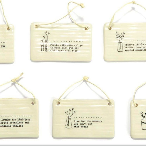 Flower Picture 24 Pc Ornament Un Includes 6 Sayings