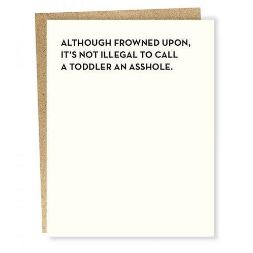 Toddler Card