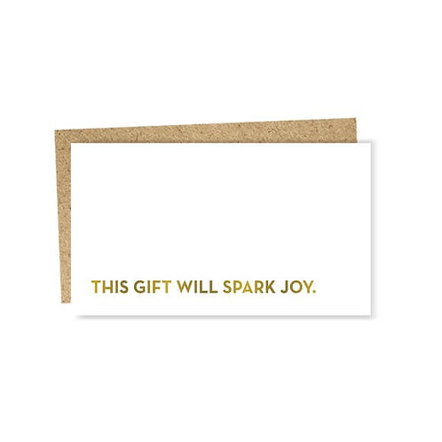 Spark Joy Mini Card