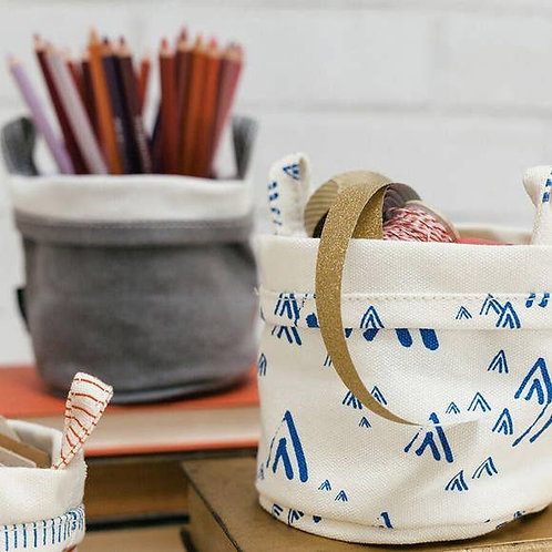 Mt. Tam  Recycled Canvas Bucket Small