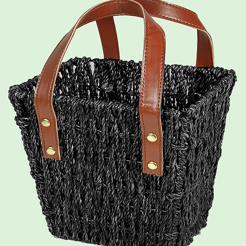 Black Rope Basket Tray