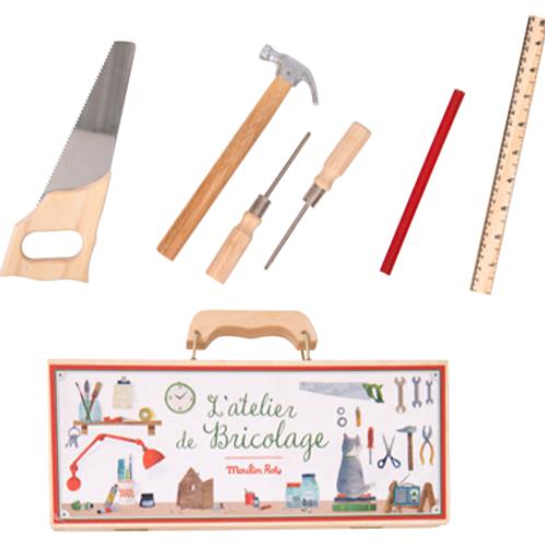 Small tool box set