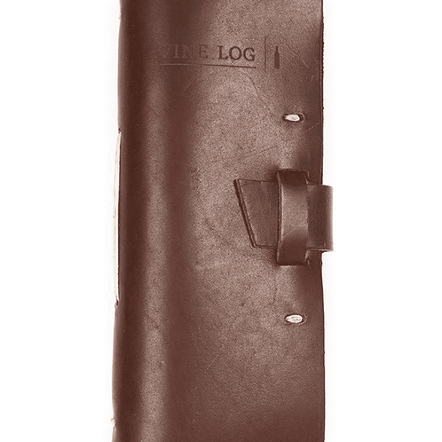 Leather Wine Log (Saddle)