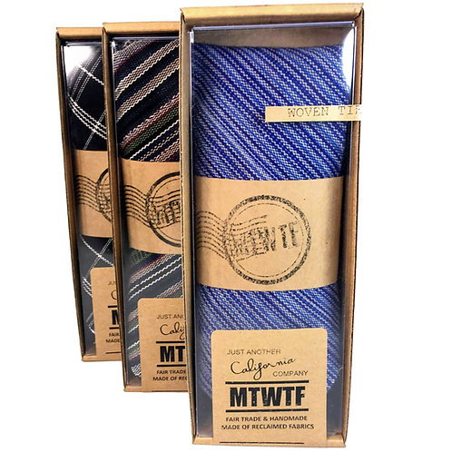 MTWTF - Fair Trade RE-cycled Tie