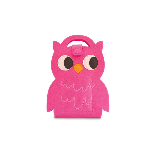 Owl Mini Fuzzytown Die Cut Artfolio