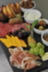 Kettle Spiced Nuts/Marinated Olives/Housemade Ricotta/Orange Mustard/Apple Rhubarb Compote