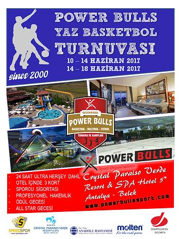 17.Power Bulls Basketbol Yaz Turnuvası Tanıtım Kiti