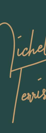 Michelle Terris_Primary Logo_Green Backg