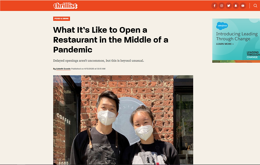 What It's Like to Open a Restaurant in the Middle of a Pandemic