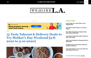 15 Tasty Takeout & Delivery Deals to Try Mother's Day Weekend