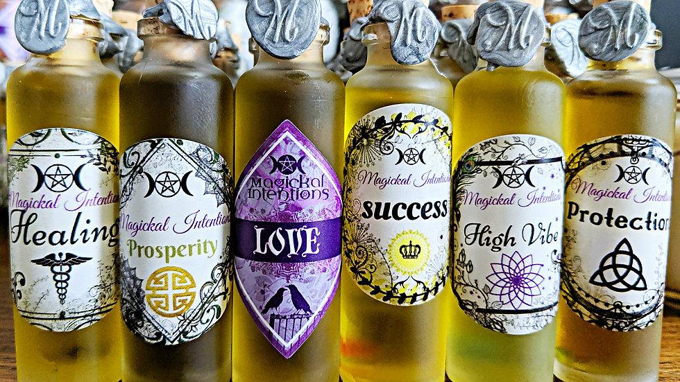 6 Magickal Oil Collection
