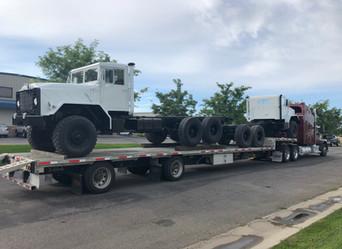 M927 900 Series 5 Ton 6x6 (2)- Shipped to Pasco, Washington
