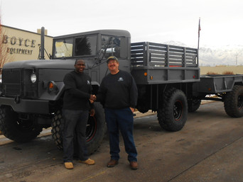M35A2 Bobbed 2.5 Ton w/ M105 Trailer- Picked Up- Nevada