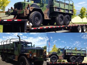 M35A3 2.5 Ton 6x6- Shipped to Alaska