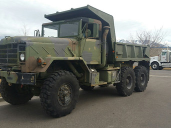 M929A2 900 Series 5 Ton 6x6 Dump- Shipped to Arizona