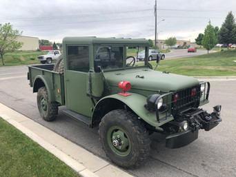 M37 Dodge 3/4 Ton Truck- Shipped to California