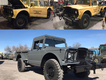 M715 Kaiser Jeep- Shipped, Idaho