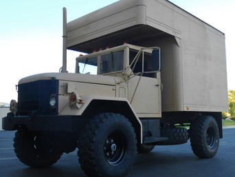 M35A2 Bobbed 2.5 Ton w/Camper Bed- Shipped to Montana