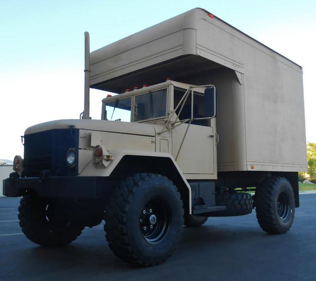M35A2 Bobbed 2 5 Ton w/Camper Bed- Shipped to Montana