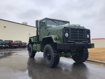 M923A2 Bobbed 5 Ton 4x4- Shipped to California